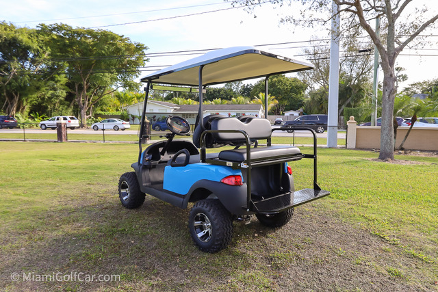 Club Car Precedent 4 Passenger SKU #465 side back view