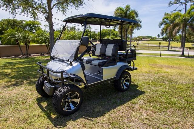 VIP golf cart customer Carlos Fernandez