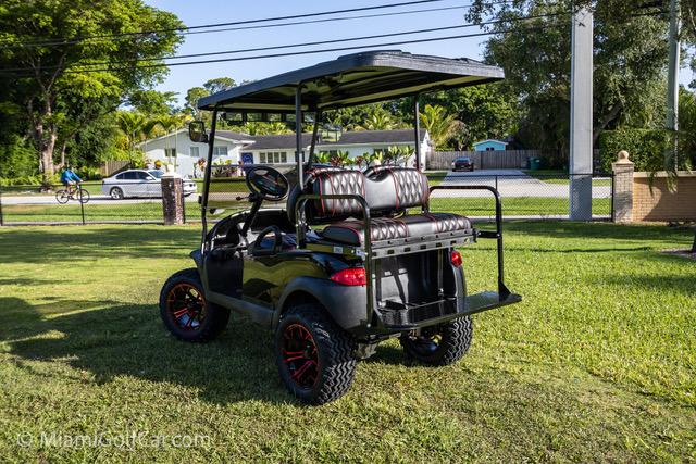 Club Car Precedent 4 Passenger Black - SKU #440 back