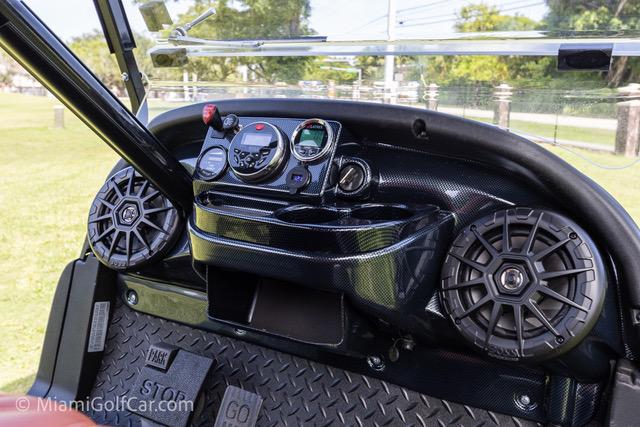 Club Car Precedent 6 Passenger Metallic Blue - SKU #648 dash