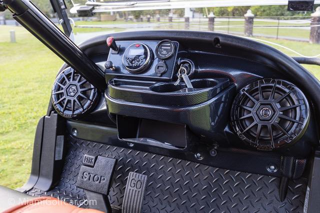Club Car Precedent 6 Passenger Alpha Black  - SKU 649 dash