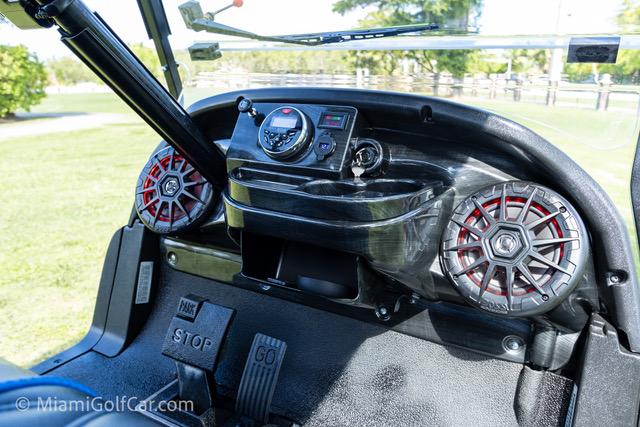 Club Car Precedent 4 Passenger Blue - SKU 439 dash