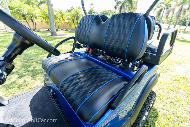 Club Car Precedent 4 Passenger Blue - SKU 439 seat