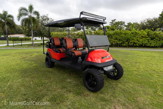 Club Car Precedent 6 Passenger  Red - SKU #672