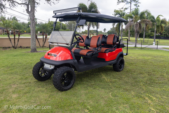 Club Car Precedent 6 Passenger Red - SKU #672