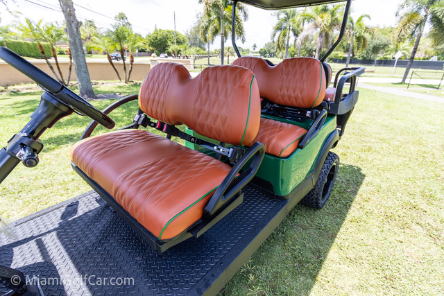 Club Car Precedent Alpha 6 Passenger Green - SKU #671