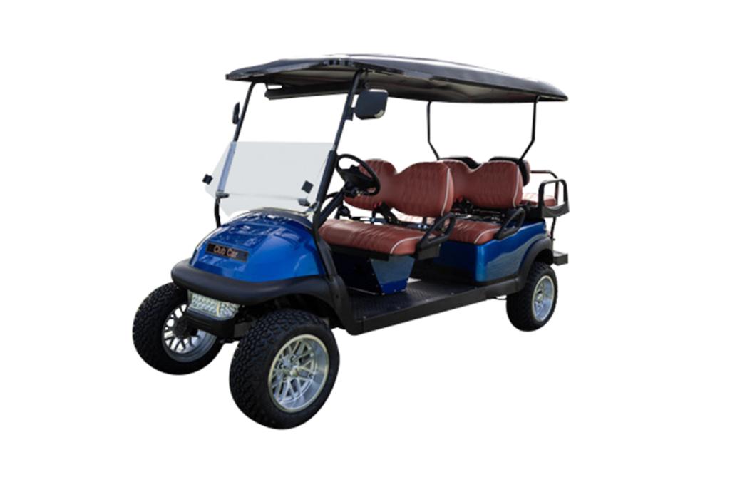 Club Car Precedent 6 Passenger Metallic Blue - SKU #648