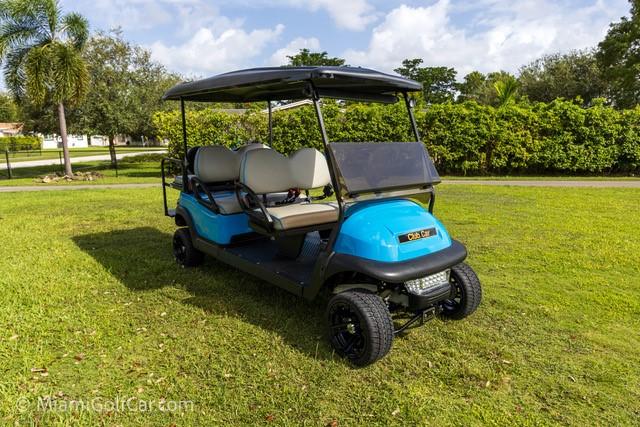 CG Marina Coconut Grove FL golf cart customer