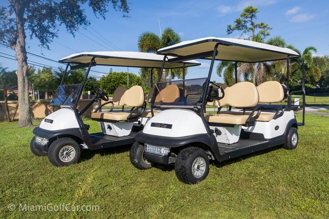 Trade Pro Miami FL Golf Cart Customer
