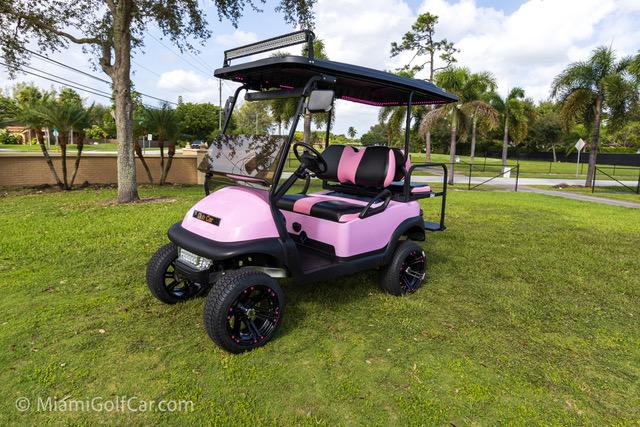 Club Car Precedent 4 Passenger Pink - SKU 438