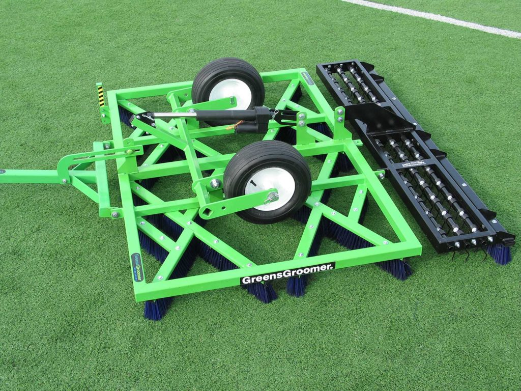 The Synthetic Sports Turf Groomer