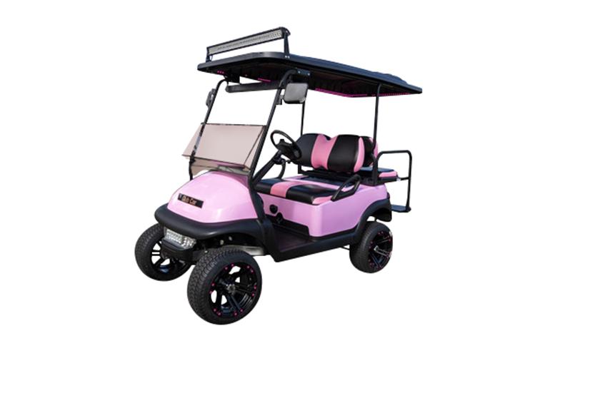 Club Car Precedent 4 Passenger Pink SKU438