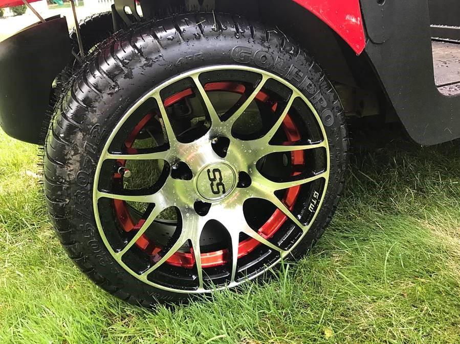 Club Car Precedent 48v SKU 432 wheels