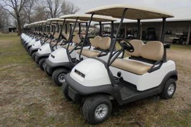 customer buys 20 Club Car Preecedent golf carts for Santiago Chile