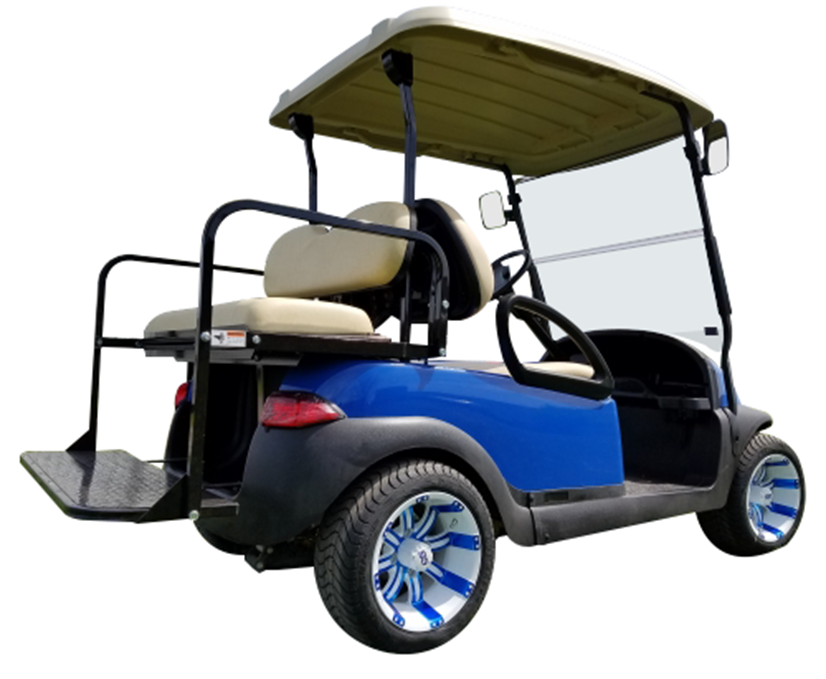 Club Car Precedent Blue SKU 431 side view