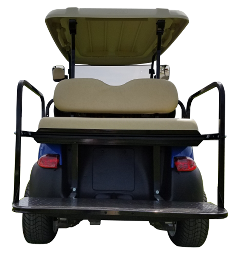 Club Car Precedent Blue SKU 431 rear seats