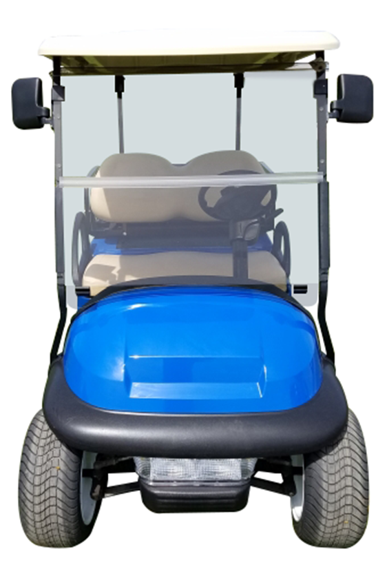 Club Car Precedent Blue SKU 431 front view