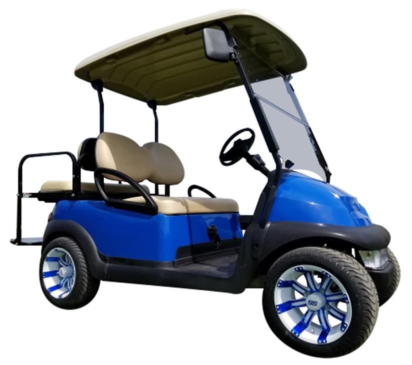 Club Car Precedent Blue SKU 431