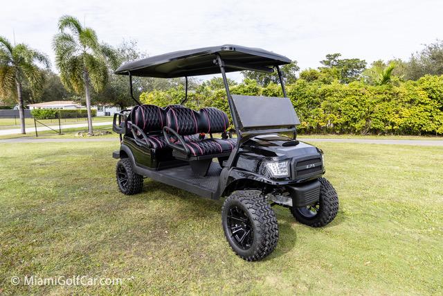 Club Car Precedent 6 Passenger Alpha Black  SKU #645