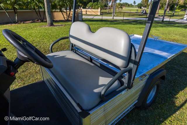 Carryall 500 with Flat Bed Electric or Gas SKU U272 seat