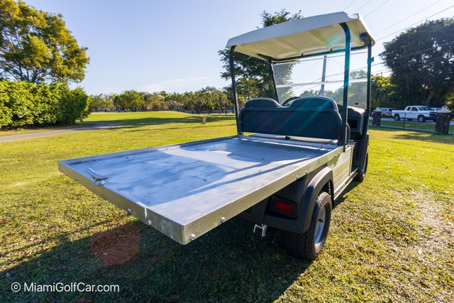 Carryall 500 with Flat Bed Electric or Gas SKU U272 rear view