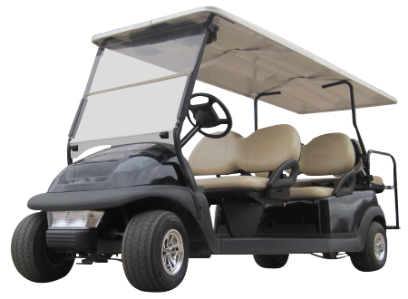 Club Car Precedent 6 Passenger Black SKU #651B