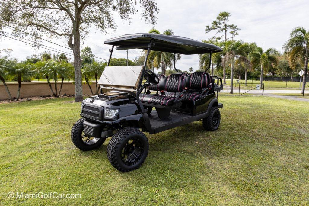 Key Biscayne FL golf cart customer