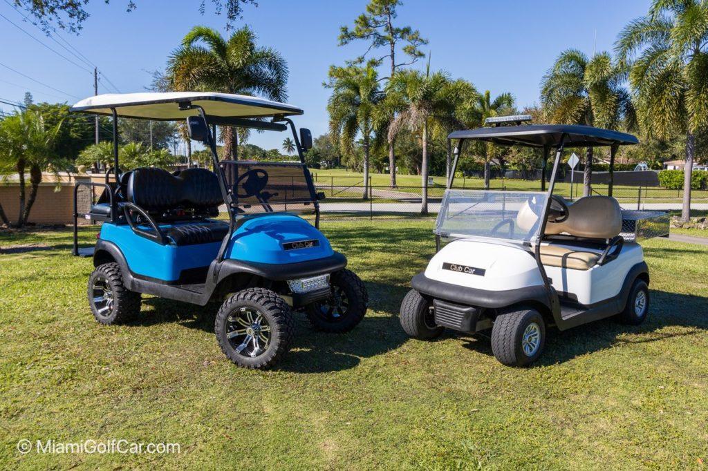 Golf cart customer US Virgin Islands