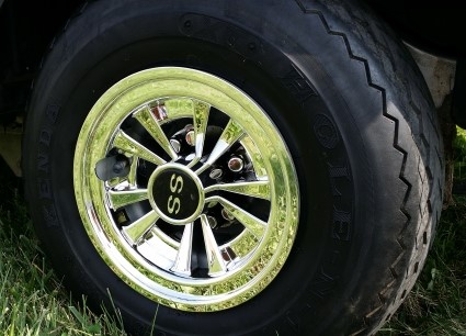 Club Car Precedent 48v SKU 430 Wheel