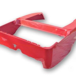 Madjax Red OEM Club Car Precedent Rear Body (Fits 2004-Up)