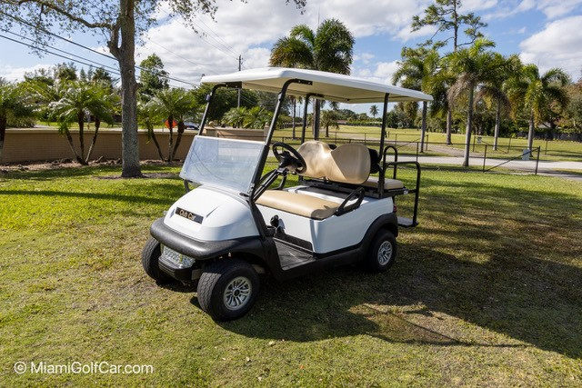 Bahamas golf cart customer