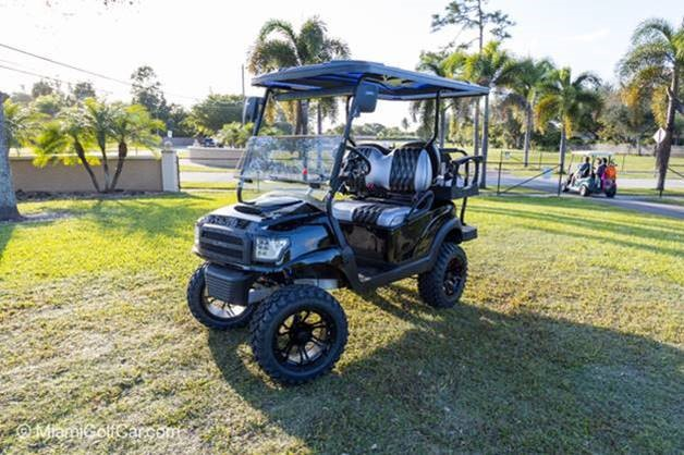 Golf Cart customer in Key Biscayne FL