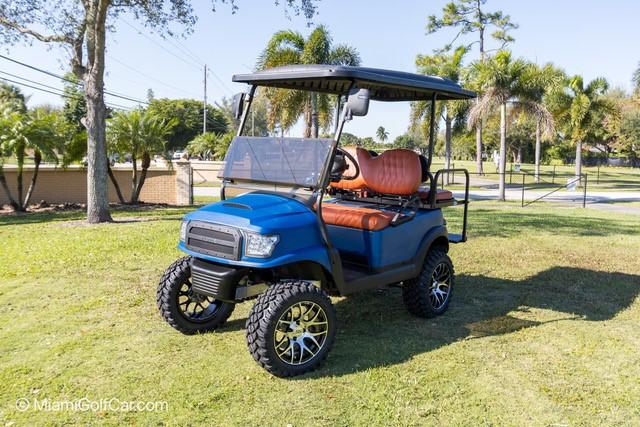 VIP golf cart customer in Miami