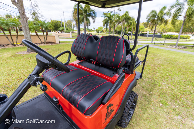 Club Car Precedent 4 Passenger Red SKU 429 seats