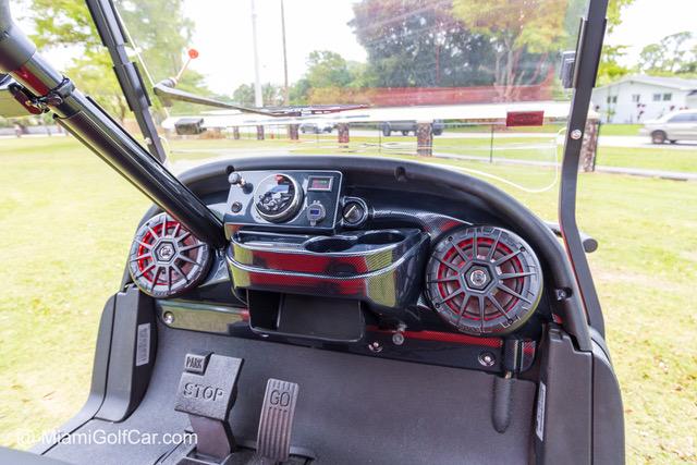 Club Car Precedent 4 Passenger Red SKU 429 dash
