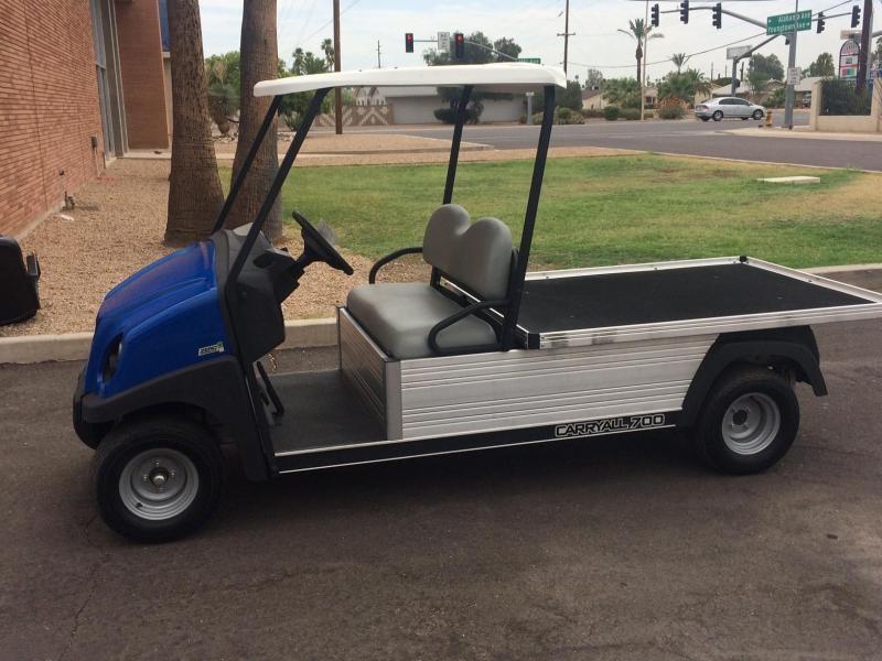 Club Car Carryall 700 48 v Flat Bed Utility