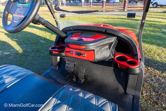 Club Car Precedent 2 Passenger Alpha RED SKU 241 dashboard