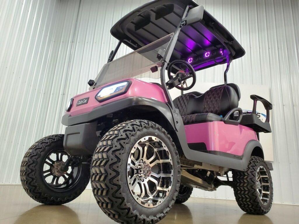 Club Car Tempo 48 v  Golf Cart, Kandi Pink SKU427
