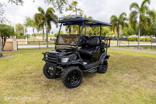 Fisher Island golf cart customer