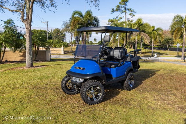 VIP golf cart customer Miami FL
