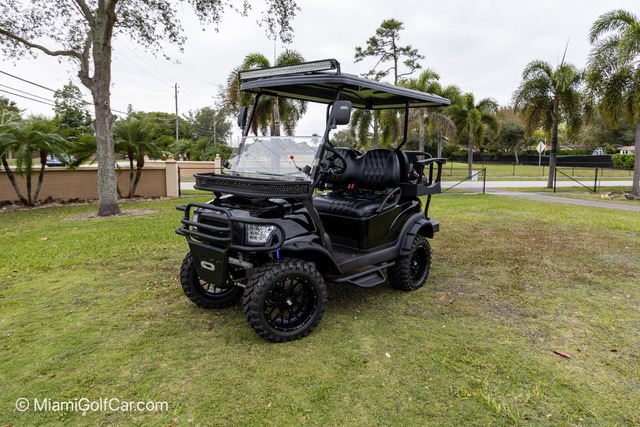 Club Car Precedent 4 Passenger Alpha Black - SKU 421 BEAST MODE Street Legal Ready