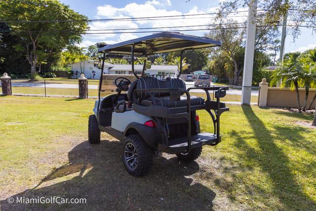 Club Car Precedent 4 Passenger Alpha Matte Grey SKU422 rear