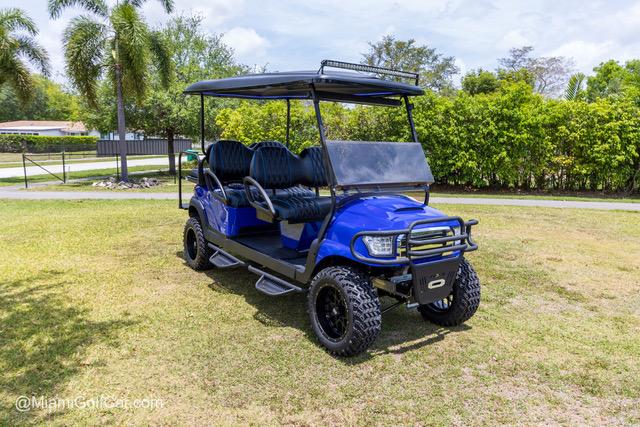 Club Car Precedent 6 Passenger Alpha Blue - SKU 643
