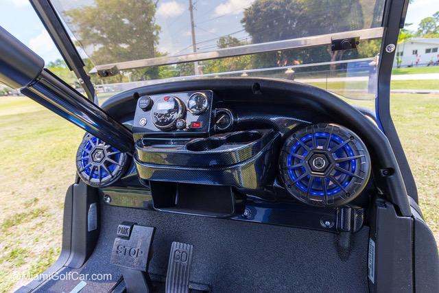 Club Car Precedent 6 Passenger Alpha Blue - SKU 643 dash