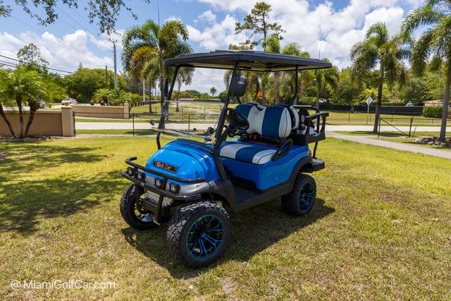 Club Car Precedent 4 Passenger Blue - SKU 419
