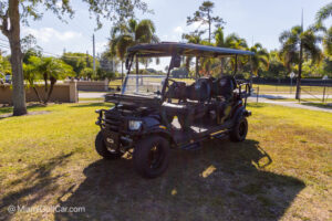 Club Car Precedent 6 Passenger Black Alpha Street Legal Ready - SKU 640