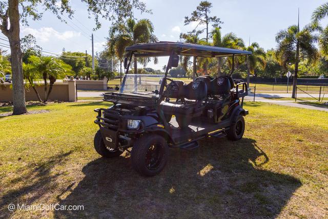 Club Car Precedent 6 Passenger Black Alpha SKU 640