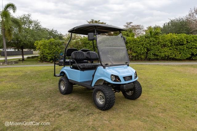 After golf cart restoration