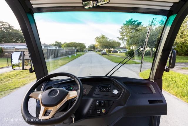 8 Passenger Electric Cart White body  350A Curtis Controller SKU# 804E