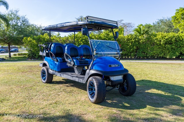 Mike Gine Fort Lauderdale, FL golf cart customer